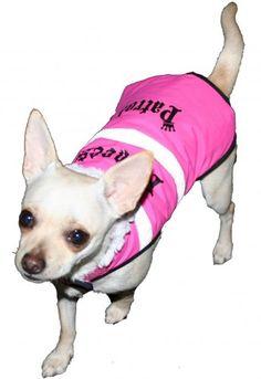 Princess Patrol Reflective Rain Vest - Pink XL (22-24' Girth) >>> Don't get left behind, see this great dog product : Dog coats