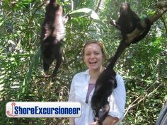 Belize City, Cruise Excursions, Monkey, Natural, Summer, Belize, Playsuit, Monkeys, Summer Recipes