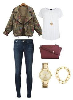 """Untitled #110"" by roro92 on Polyvore featuring J Brand, MICHAEL Michael Kors, Betsey Johnson, Kate Spade and Michael Kors"