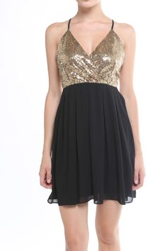 Shine bright. Alythea Sequin New Years Holiday Sparkle Tulle Skirt dress.