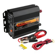 Universal T8094 Professional 400W/800W Power Inverter Charger Converter Car Vehicle Home Use Power Supply Inverter Black