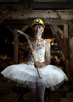 'The Miner' by Lyubomir Sergeev - Photography from Bulgaria