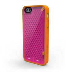 iPhone 5 Case Undecided Orng Pnk