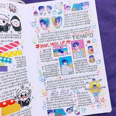 Long version My Life in July, page 4 Study Journal, Journal Diary, Journal Layout, My Journal, Bullet Journal Ideas Pages, Bullet Journal Spread, Bullet Journal Inspiration, Art Journal Pages, Journal Stickers