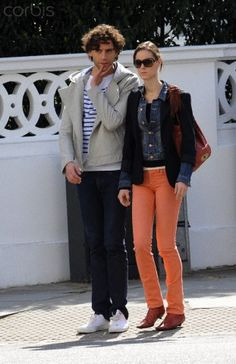"Singer Mika and ""a mystery woman"" (also known as his backing singer Ida) out and about in south London April 09, 2010"