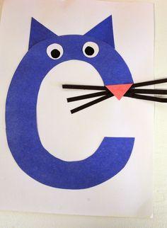 Mrs. Ricca's Kindergarten -c is for cat