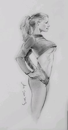 Standing nude - nude charcoal drawing by artist connie chadwell, on dailypa Life Drawing, Drawing Faces, Drawing Sketches, Drawing Art, Sexy Drawings, Pencil Drawings, Art Drawings, Beautiful Drawings, Female Drawing