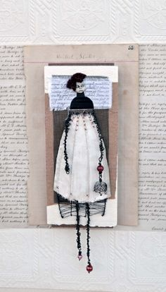 MIxed+Media+Original++Lydia+by+Indiandollartworks+on+Etsy,+$160.00