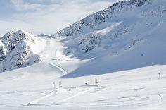 Kaunertal glacier, Tyrol, Austria