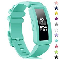 findway Compatible with Fitbit Ace 2 Bands for Kids Soft Silicone Bracelet Accessories Sport Strap Boys Girls Wristbands Compatible for Fitbit Inspire HR & Ace 2 Silicone Bracelets, Silicone Rubber, Fitbit, Boy Or Girl, Bands, Inspire, Sport, Girls, Inspiration