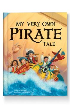 Fun personalized book for your little pirate http://rstyle.me/n/mcmprnyg6