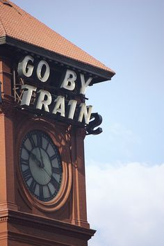 Go by train.