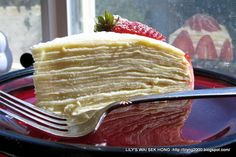 20 Layers Crepe Cake  From PTITCHEF