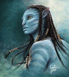 Neytiri by ~JuliaFox90 on deviantART
