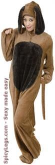 Sexy Costume - Dog Adult Costume