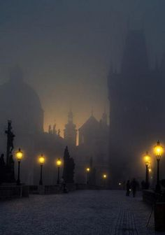 "Night in Praga - via  ""The Beauty of Arts""'s Page on FB"