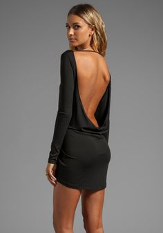 Boulee Tatiana Dress in Black very sexy backless dress Sexy Outfits, Sexy Dresses, Beautiful Dresses, Cool Outfits, Short Dresses, Fashion Outfits, Womens Fashion, Sexy Backless Dress, Hot Dress