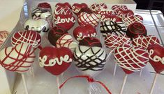 Heart Cake Pops | Little Delights Cakes
