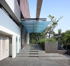 building entrance canopy - Google Search: