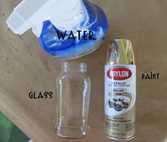 WobiSobi: Gold Mercury Glass: DIY