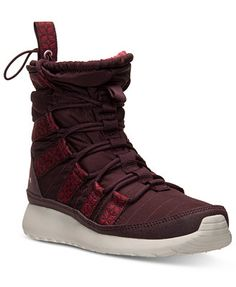 f4855f91fbe28 Nike Women s Roshe Run Hi Sneakerboots from Finish Line   Reviews - Finish  Line Athletic Sneakers - Shoes - Macy s