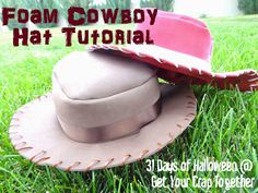 Foam Cowboy Hat Tutorial