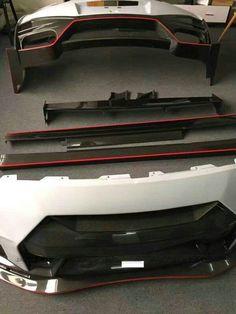 EPR Car Styling For Nissan R35 GTR CBA/DBA Portion Carbon Fiber 17 Nismo Style Body Kit FRP Fiberglass Bodykit <font><b>Accessories</b></font>
