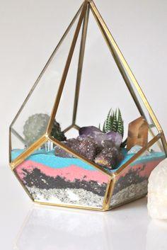 Crystal   Cactus Terrarium