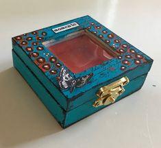 Art Journey Design-team: Houten minidoosje/wooden minibox