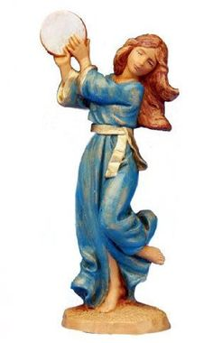 Amazon.com: Fontanini DINAH Figurine 5 Inch Series: Home & Kitchen
