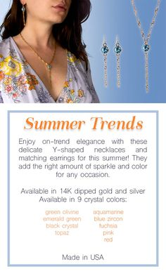 Check out our Summer Jewelry 2018 Collection!