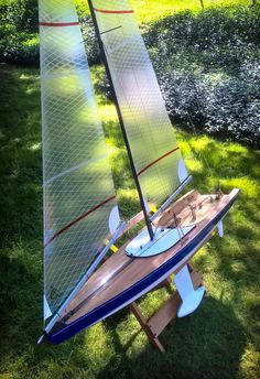 Plans For A Rc Laser Sailboat Google Search Rc