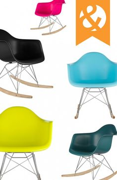 Shop modern furniture and home décor for every room in your home, ranging in style from mid-century to industrial to bohemian and more. Funky Furniture, Home Furniture, Love Chair, Rocking Chair, Home Decor Inspiration, Fitness Inspiration, Dot And Bo, Mid Century Design, Classroom Decor