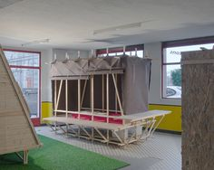 sheep to sleep provides low-cost temporary micro-housing