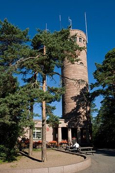 Tampere, Pyynikki  I have climbed down from that tower!! Sooo much fun and sooooo scary :D