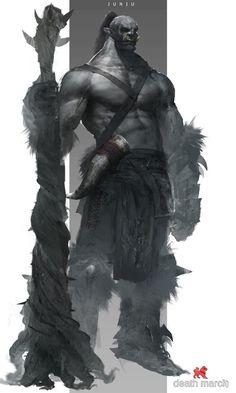 "fantasy-inspiration: ""Monsters by Ben Juniu "" Fantasy Concept Art, Fantasy Character Design, Dark Fantasy Art, Fantasy Rpg, Character Art, Fantasy Monster, Monster Art, Fantasy Dragon, Fantasy Warrior"