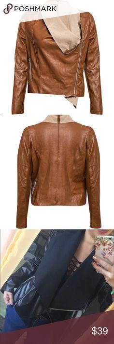 ‼️FLASH SALE‼️Fall Essential Jacket Jacket  Autumn 2016. Faux leather. Jackets & Coats Jean Jackets