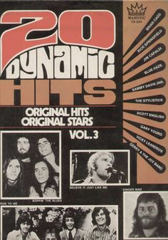 20 Dynamic Hits Original Hits Original Stars Vol 3 English Vinyl LP