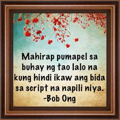 #SubtleEPALQuote by Bob Ong Pinoy Quotes, L Quotes, Quotable Quotes, Deserve Quotes, Hugot Lines, Song Hye Kyo, Tagalog, Classroom Organization, Quotations