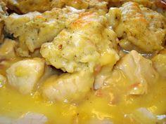 Chicken & Dumplings ~ The Sister's Cafe