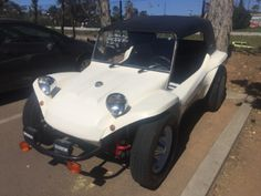 1964 VOLKSWAGEN BUGGY MANX STYLE, 1600 DUAL PORT, VERY CLEAN LITTLE CAR - ODOMETER READS 75275 REGISTERED FOR STREET USE, NO SMOG NEEDED, SALVAGED TITLE. VIN 6091252, THIS VEHICLE CAN BE INSPECTED MONDAY - SATURDAY FROM 10AM-5PM AT THE FURNITURE WAREHOUSE AT 3350 E ST, SAN DIEGO, CA 92102.