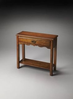 Masterpiece Stratford Traditional Medium Brown Console Table