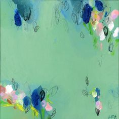 LARGE ABSTRACT modern Painting, Giclee Print, Abstract Art, Acrylic Painting, Abstract Art, green