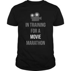 In Training For A Movie Matathon Great Gift For Any Marathon Weekend Movie Fan T-Shirts, Hoodies. CHECK PRICE ==► https://www.sunfrog.com/Movies/In-Training-For-A-Movie-Matathon-Great-Gift-For-Any-Marathon-Weekend-Movie-Fan-Black-Guys.html?id=41382
