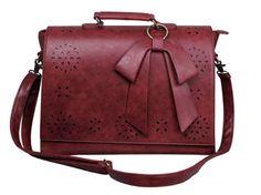 Moda Donna Online: Borsa Messenger Da Donna Vintage in finta Pelle