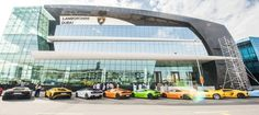 Lamborghini's new showroom opens in Dubai http://one1info.com/article-Lamborghini%E2%80%99s-new-showroom-8714