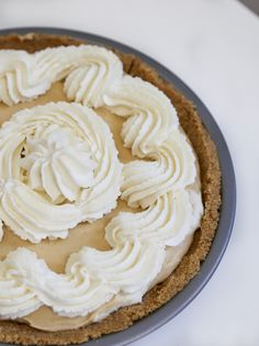 Honey and Peanut Butter Pie.  This pie is the bee's knees!