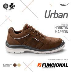 #calzado #seguridad #moda #zapatos #tecnologia #caucho #Funcional #Ultralivianos #Urban #Horizon