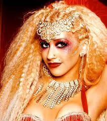 burlesque makeup and hair christina - Google Search