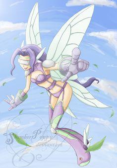 DIGIMON-Kazemon/Fairymon Spin by SlumberPoppy.deviantart.com on @DeviantArt